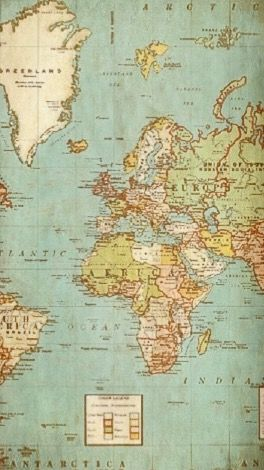 Iphone Wallpaper Worldmap Globe Wallpaper Collage Design Wallpaper