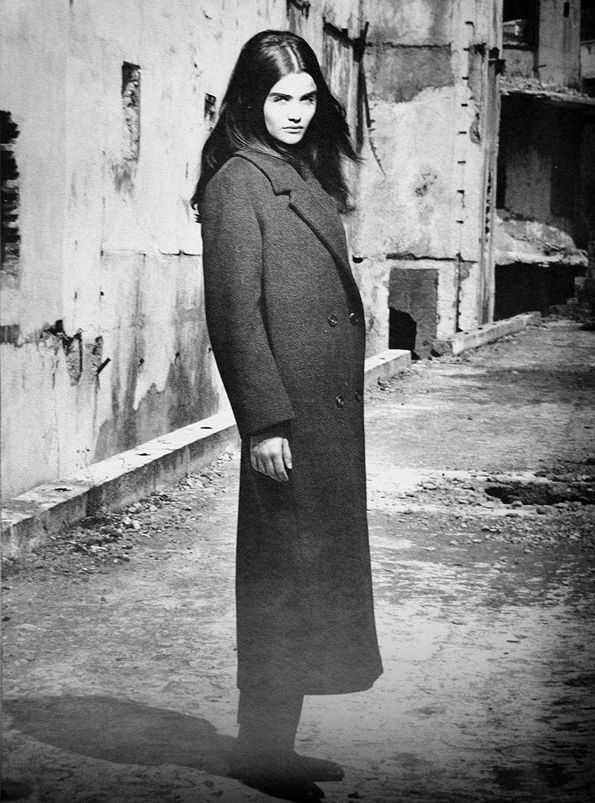 Helena Christensen, Prada, Fall 90. Still, so utterly TIMELESS.