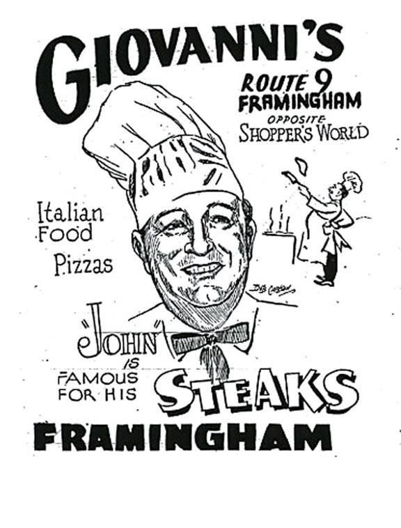 Giovanni S Restaurant In Framingham