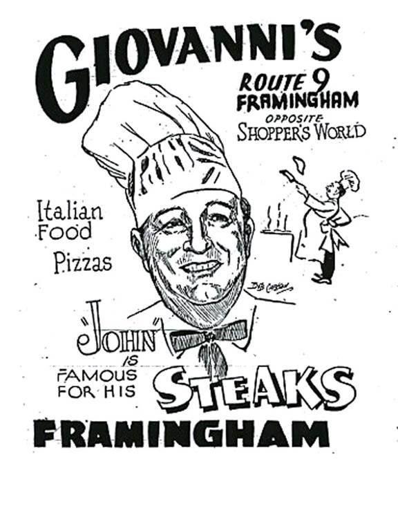 Giovanni S Restaurant In Framingham Natick Massachusetts