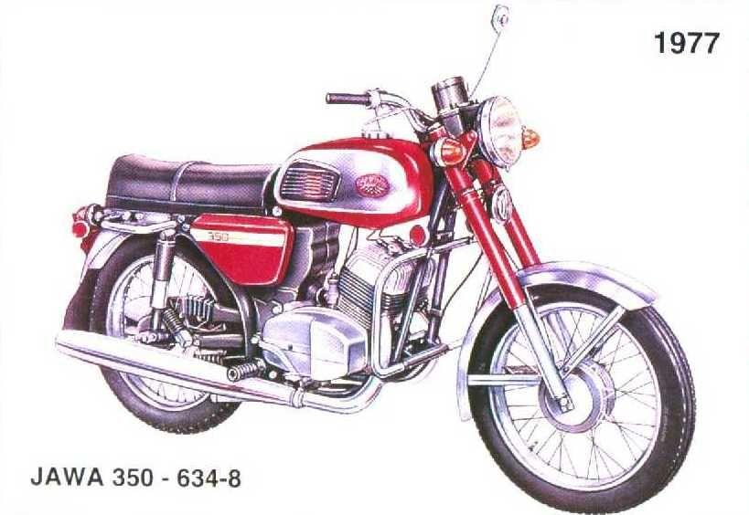 jawa 350 634 8 1977 bikes jawa pinterest. Black Bedroom Furniture Sets. Home Design Ideas