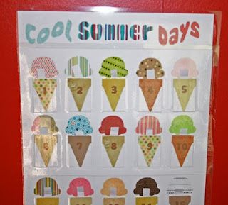 Summer advent calendar - kids pull a slip of paper out each day to find out what fun activity is in store (post includes lengthy list of possible activities)