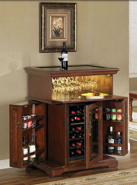 Wine Cabinet Kitchen Cabinets, Wine Cooler Cabinet Furniture