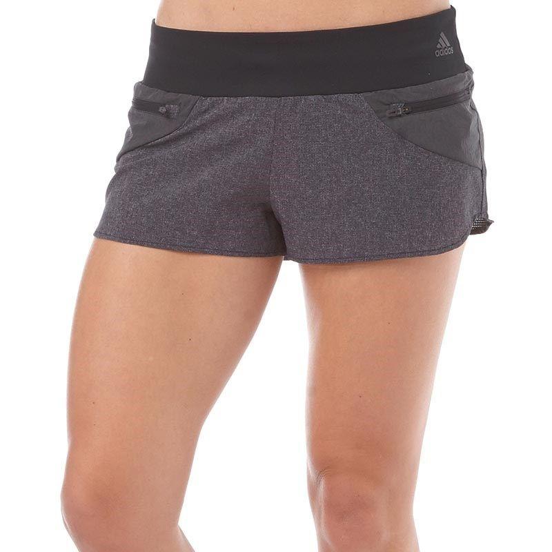 Women Clothing Shorts Black adidas Adistar Viz Running Short