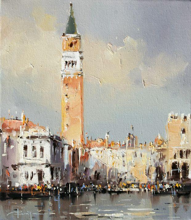 Pictura Corneliu Dragan Targoviste 14 Galerie Venise