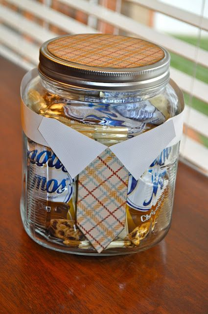 Decorate A Jar Father's Day Candy Jardecorate Jar And Fill With Dad's Favorite
