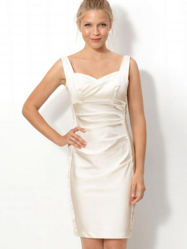 Short Ivory Wedding Reception Dresses