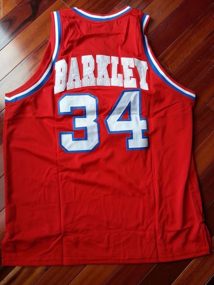 pretty nice f2f01 2315a Details about Vintage Charles Barkley NBA Mitchell Ness ...