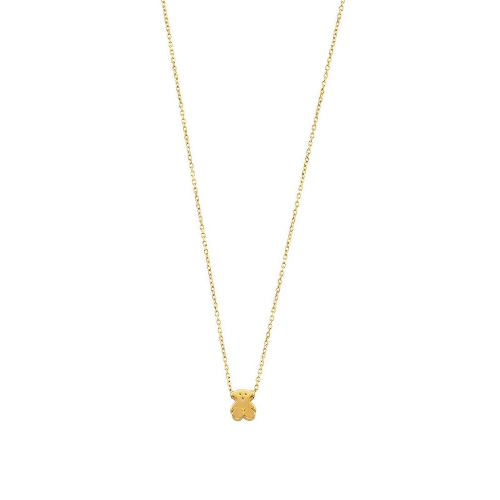 5cf2f3061d2a Dije Super Micro de Oro - Tous | Outfit | Cadenitas de oro, Collares ...
