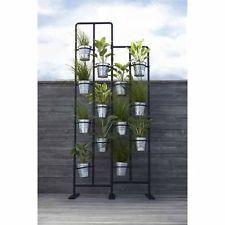 Ikea negro para exterior e interior soporte estante for Soporte estanteria ikea
