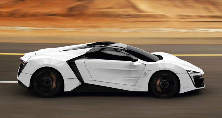 Diamonds Are A Car S Best Friend Middle East S First Supercar To Cost 3 4 Million Lykan Hypersport Expensive Cars Expensive Sports Cars