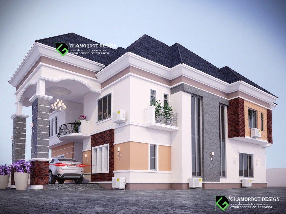 4 Bedroom Duplex Design Beautiful House Plans Duplex House Design Duplex Design