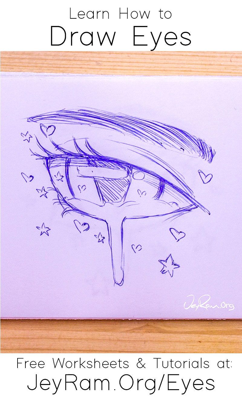 How To Draw The Eyes Step By Step For Beginners In 2020 Eye Drawing Drawings Drawing For Beginners