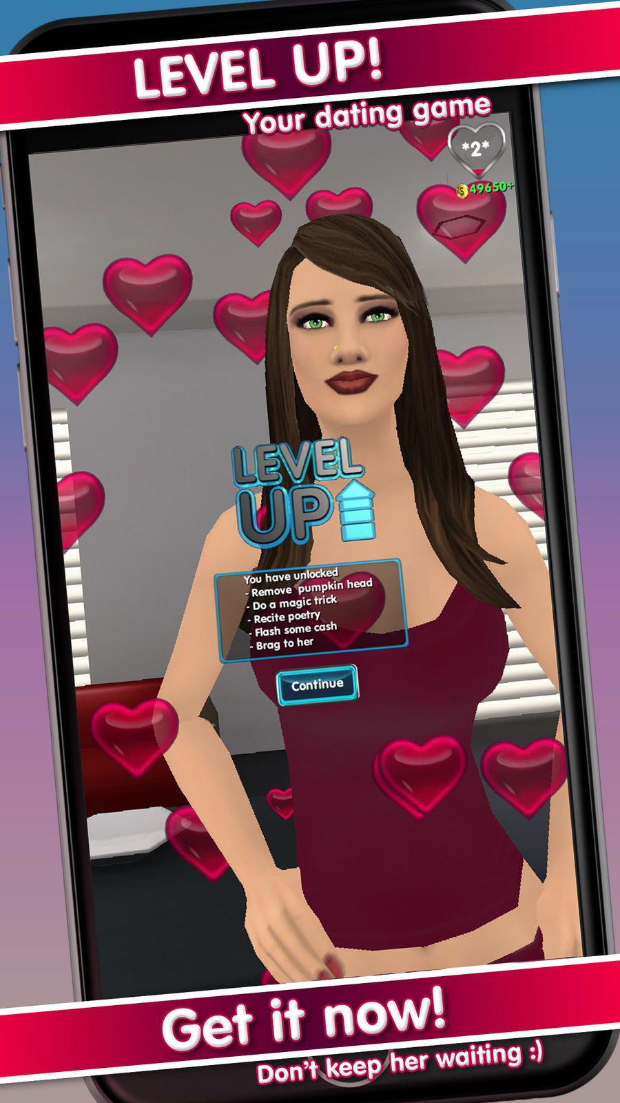 MURIEL: Adult dating simulation