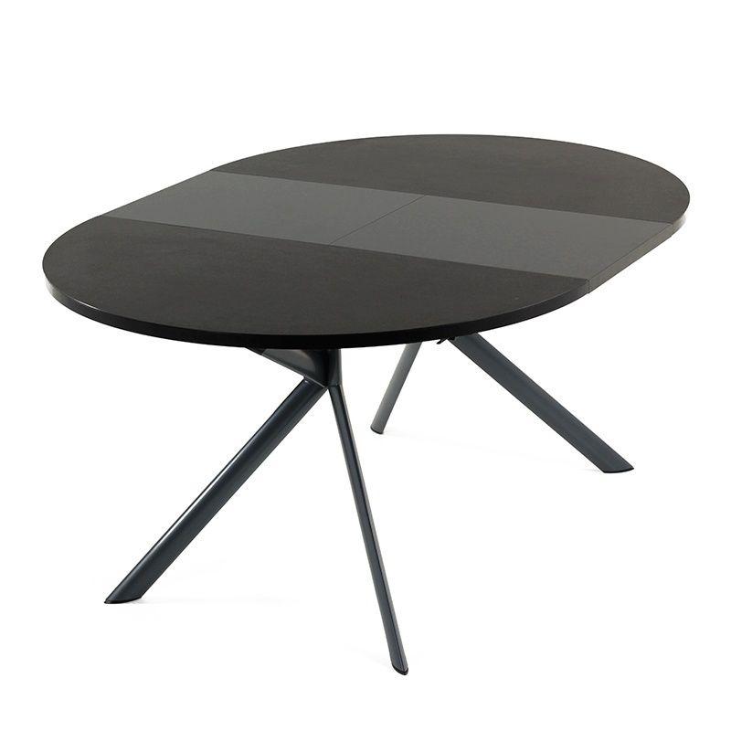 table ronde extensible en c ramique giove connubia. Black Bedroom Furniture Sets. Home Design Ideas
