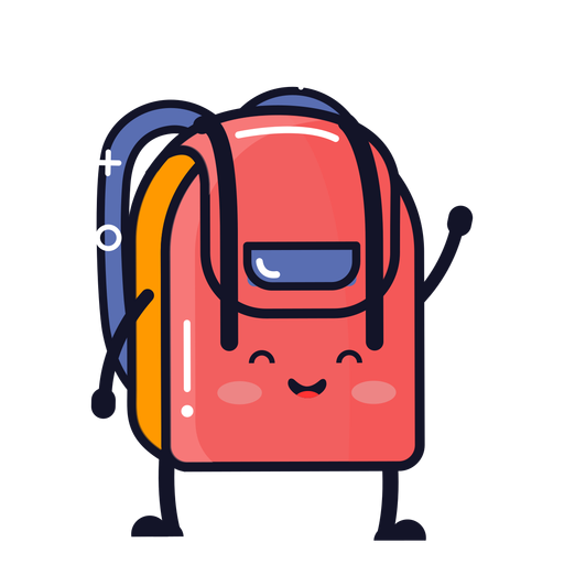 Cute Backpack Cartoon Ad Paid Paid Cartoon Backpack Cute Cute Backpacks Cartoon Cartoons Png