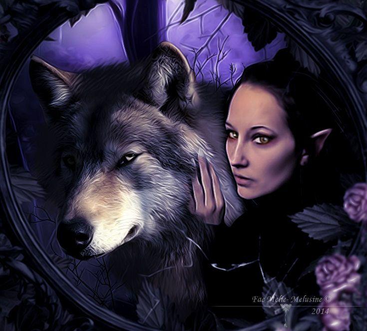 Lycanthropy By Fae Melie Melusine Deviantart Com On Deviantart Wolves And Women Wolf Spirit Wolf Love