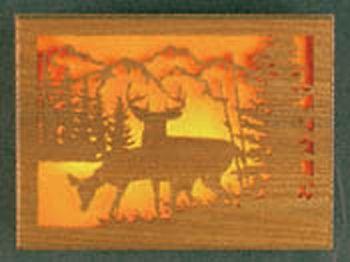 Scenic Deer Light Project Pattern