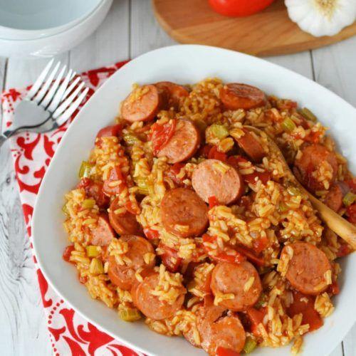 Photo of Instant Pot Jambalaya With Sausage (Video) – Quick & Easy Comfort Food