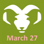 aries horoscope for march 27