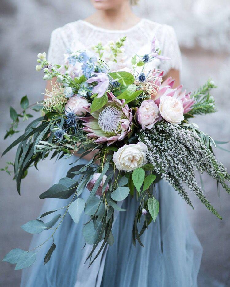 Bridal Bouquet. Rustic wedding bouquet wedding greenery. Rustic ...