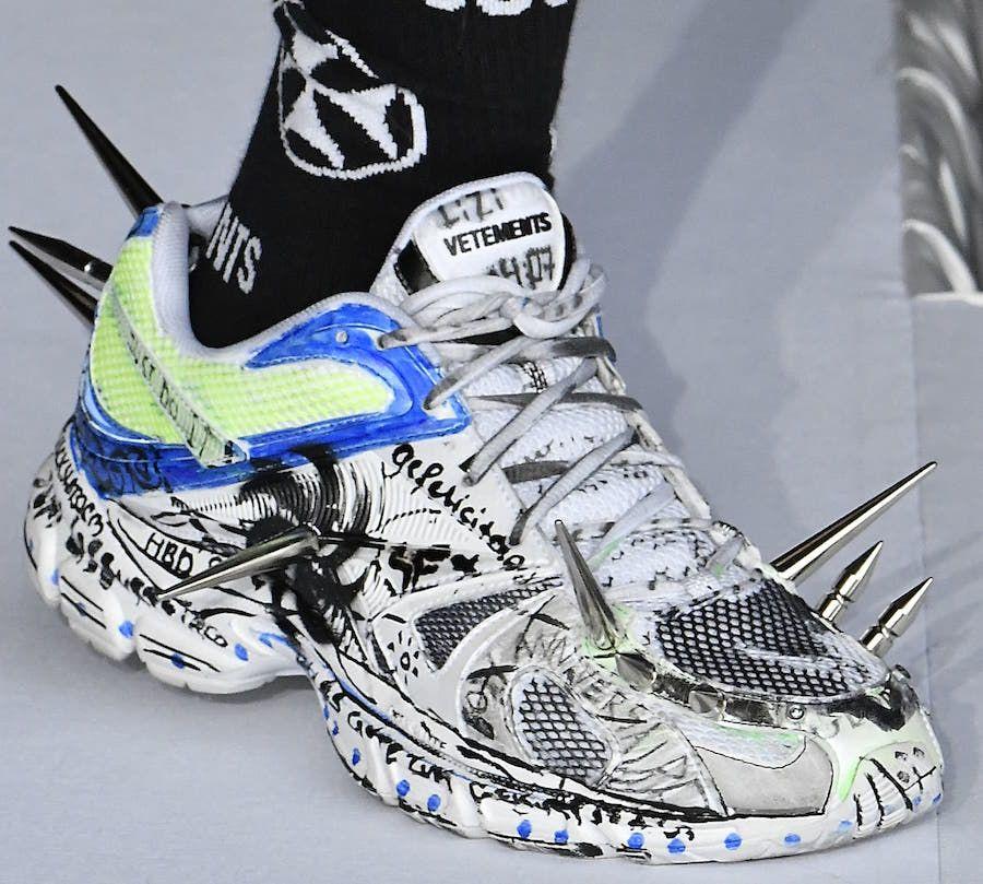 Vetements x Reebok Spike Shoes