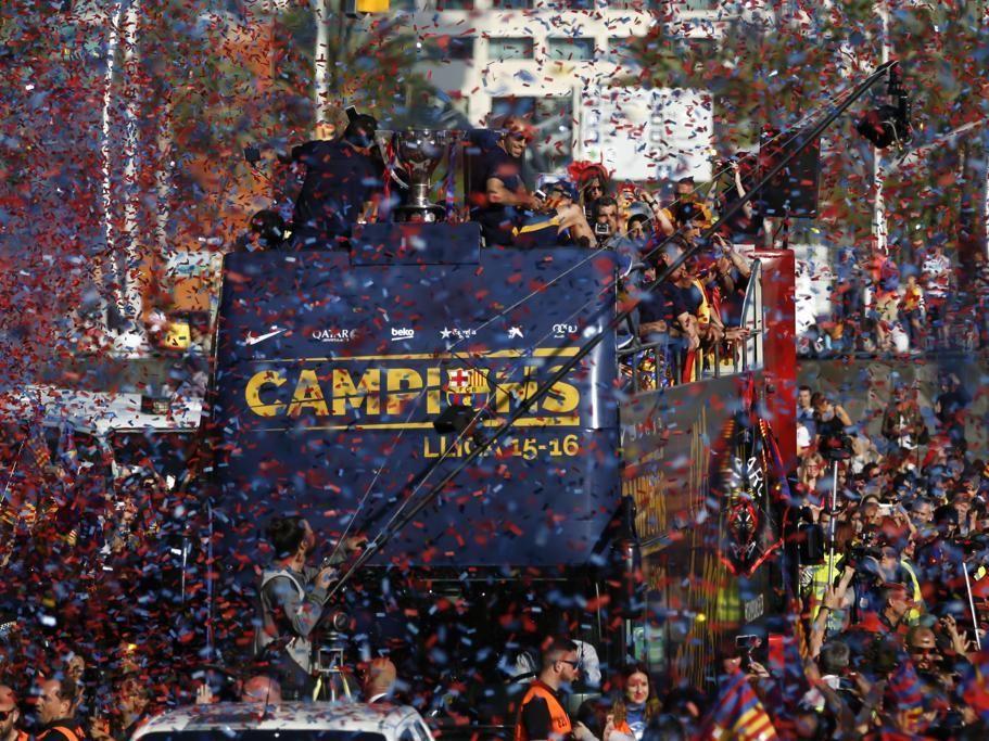 La rúa del Barça, en directo Mundo deportivo, Deportes
