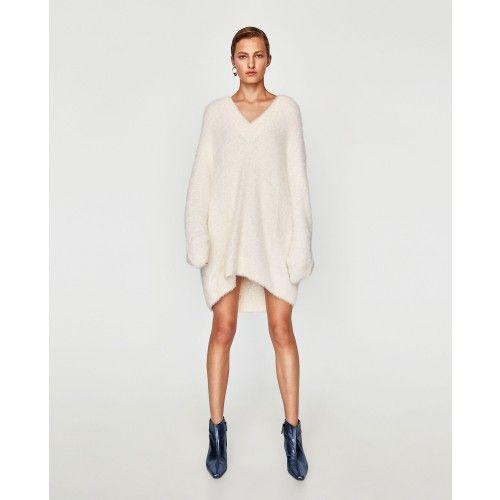 Voir Zara Pull Oversize Maille Texturé Belgique Femme Tout wOw6aRnqF