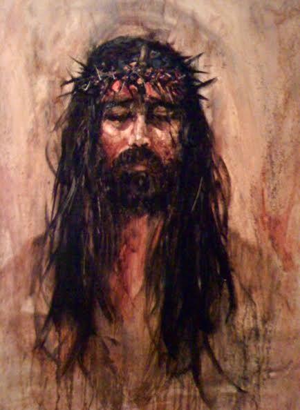 Head Of Christ Oil Painting Portraits Christ Jesus Christ
