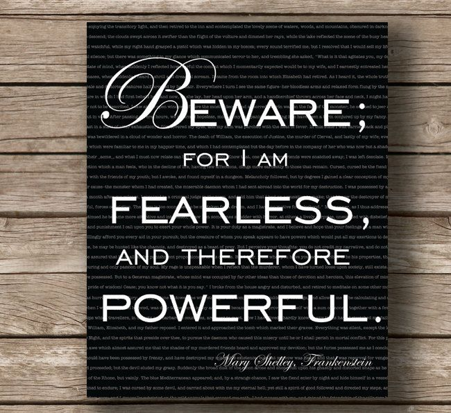 Frankenstein Quotes Frankenstein Mary Shelley Book Quote Gift For Her Gift For Book