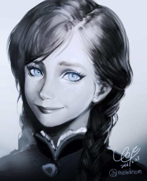 Monochrome except the eyes.  Source: https://twitter.com/meadnom/status/702017542382989313