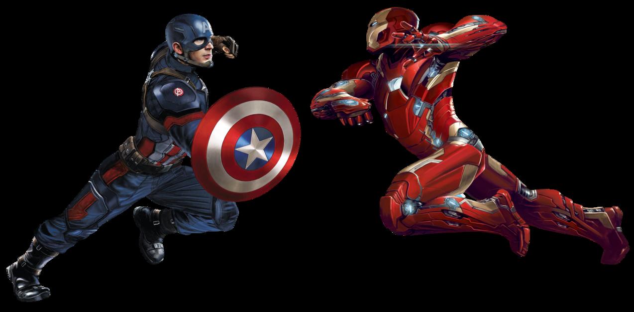 Capitan America Civil War Iron Man Vs Captain America Civil War Marvel Civil War Artwork