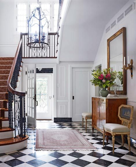 Reviving a Georgian-Style Treasure in St. Louis | Front doors, She s ...