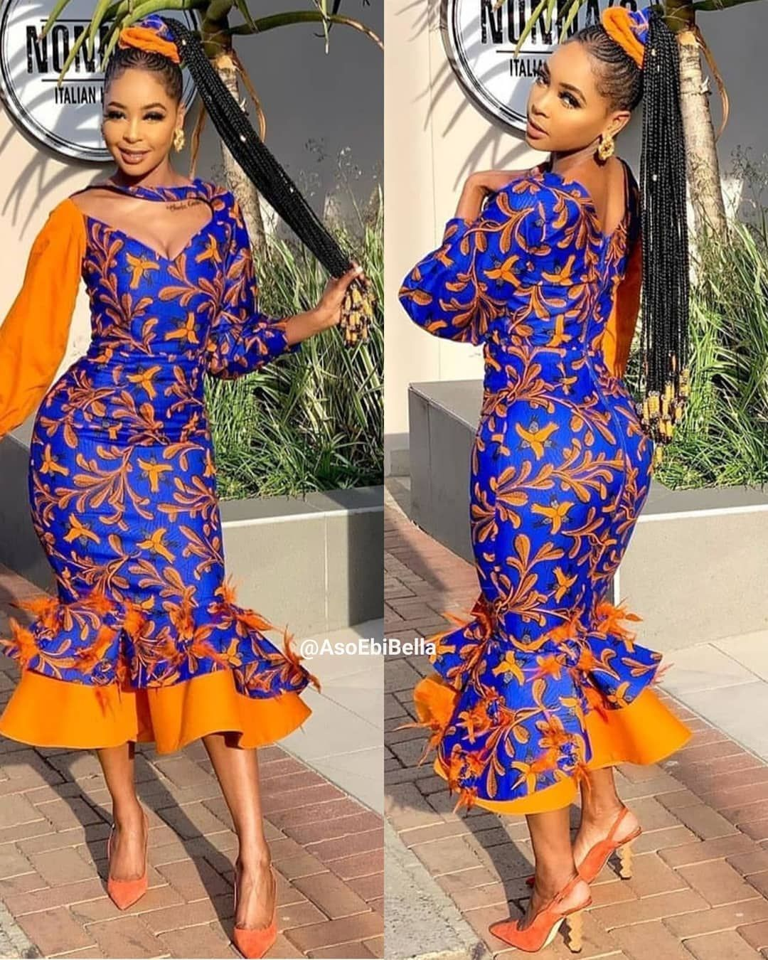 71 Collection Of #Ebfablook – Beautiful Aso Ebi Style Lace & African Print For December 2019