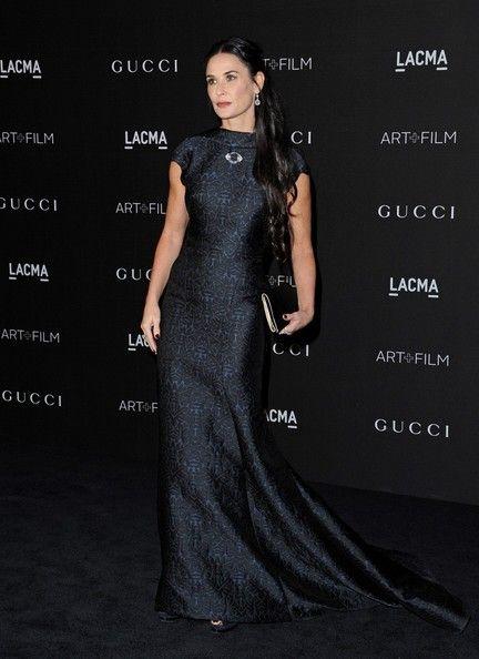Demi Moore at the 2014 LACMA Art + Film Gala