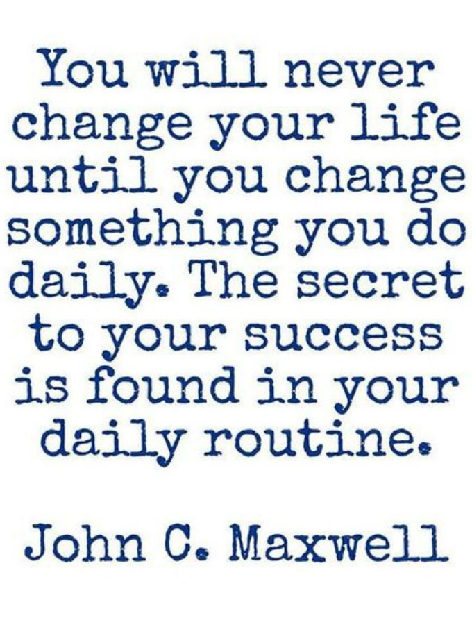 John C Maxwell Quote Life Success Routine Mmarcia30hotmail