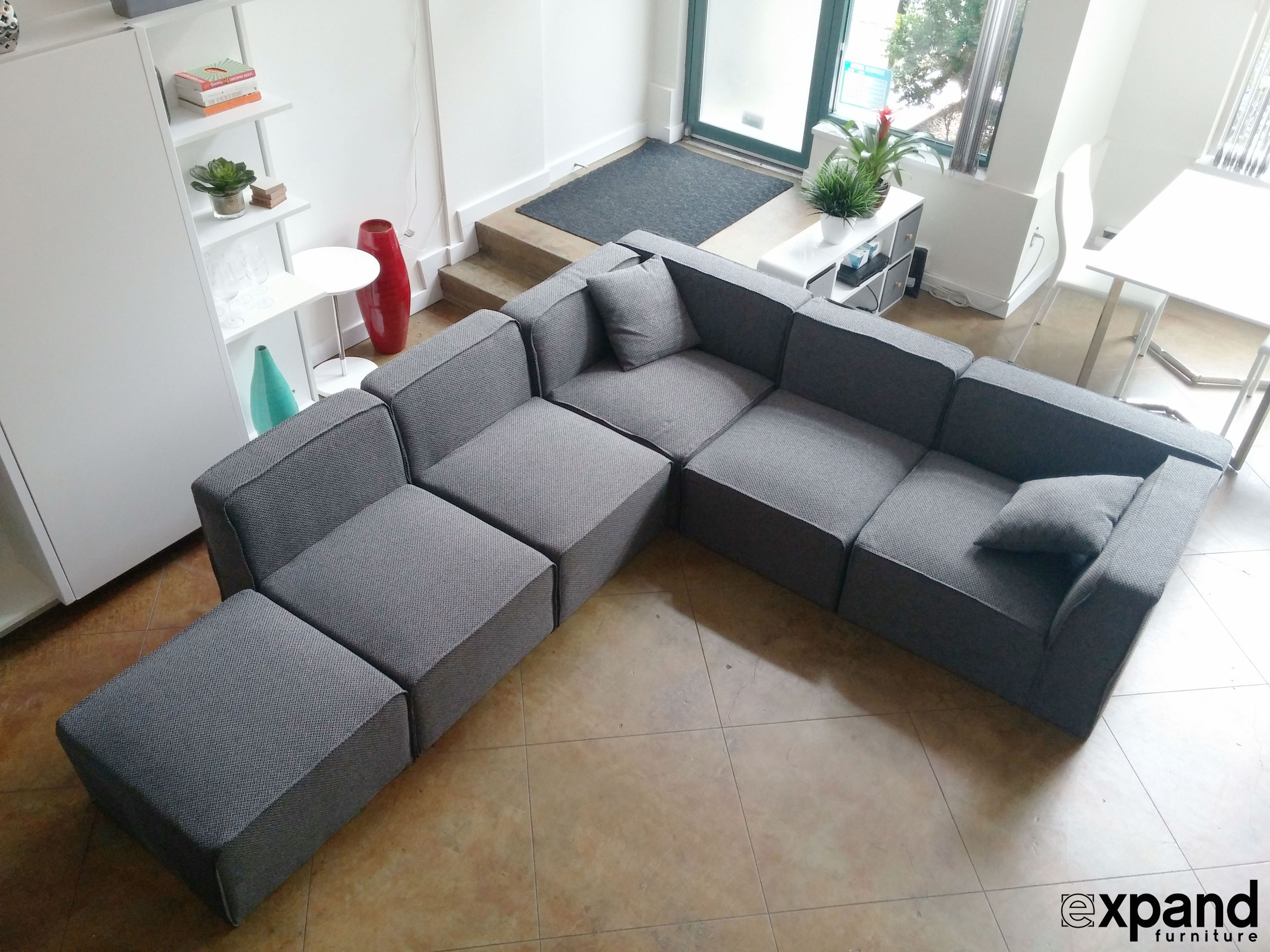 Small Modular Sofa Sectionals With