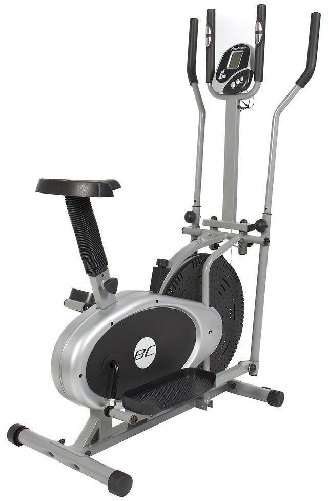 Elliptical Bike 2 In 1 Cross Trainer Exercise Fitness Machine