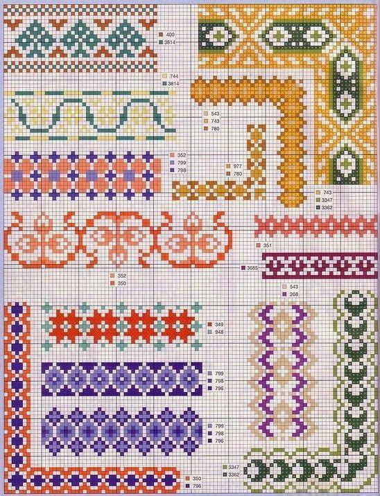 vez-embroidery | Kreuzstich | Pinterest | Projekte
