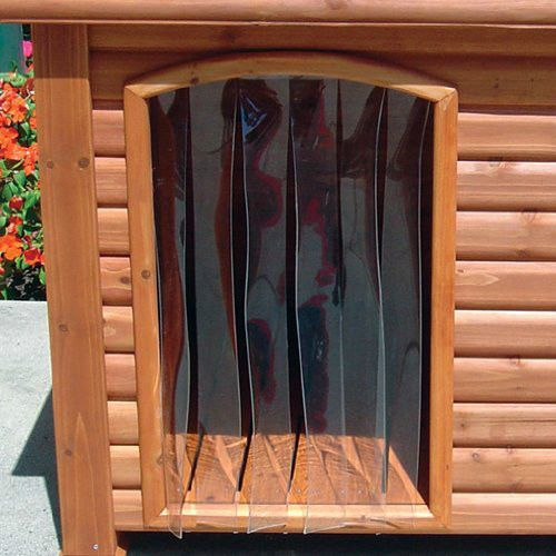 Outback Dog House Door In Clear Pets Yard Supplies Patio Products