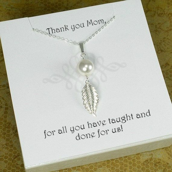 Mother Gift Present Mom Birthday By StarringYouJewelry Mothernecklace Giftideas