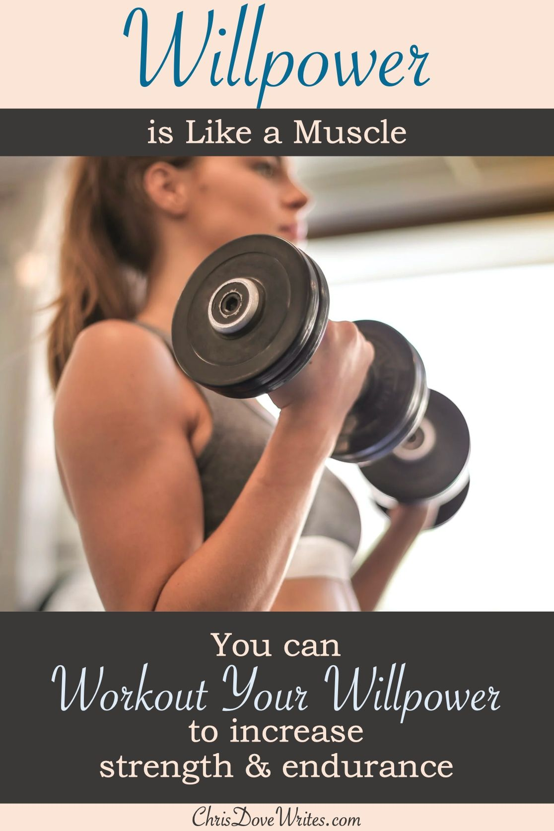 Willpower Works Like A Muscle Willpower Willpower Instinct Motivation
