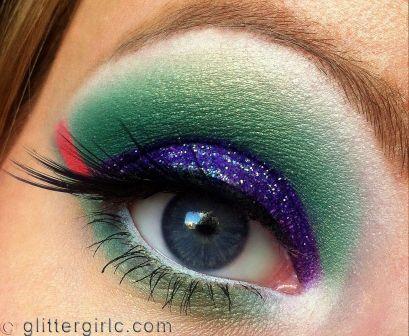 Tropical Bird makeup 4