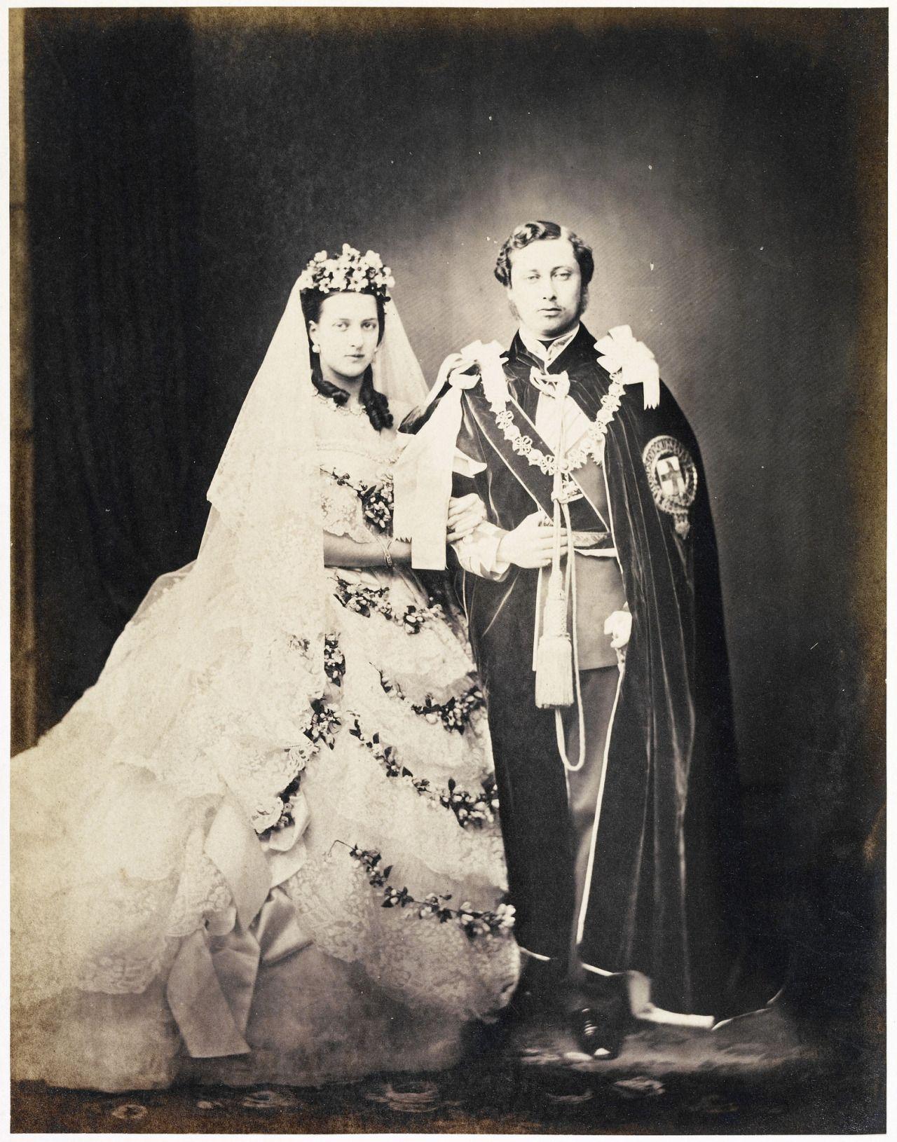 Znalezione obrazy dla zapytania king christian IX and queen louisa wedding