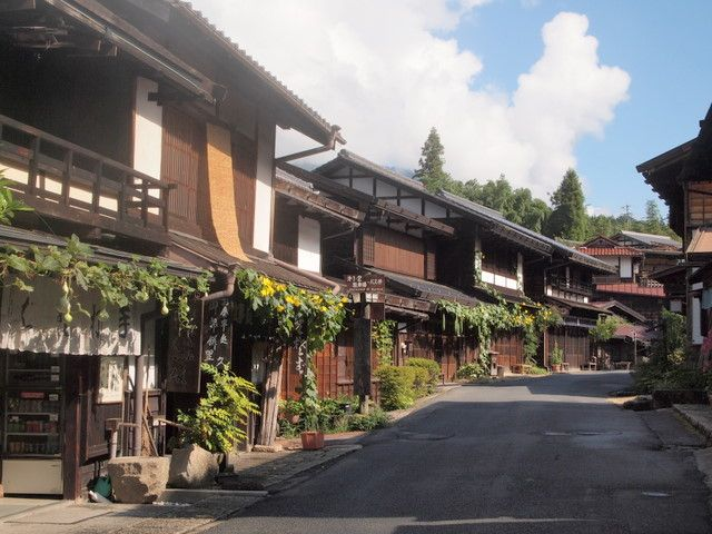 Through the Sapphire Sky: Tsumago-juku, an old post town - the flavor of the Edo period