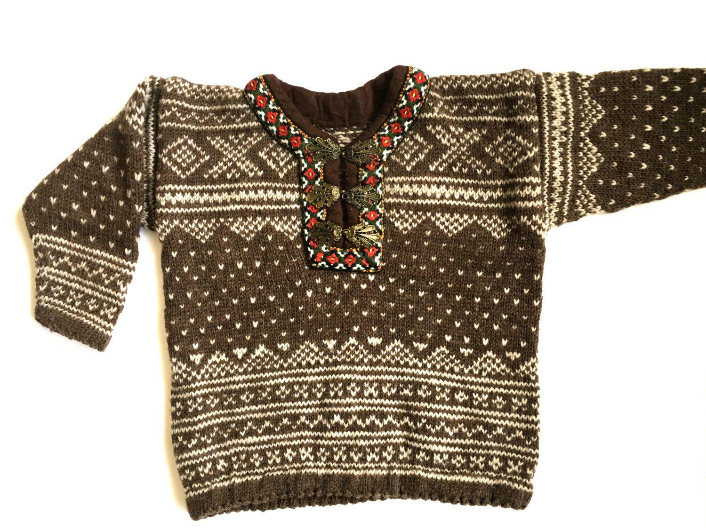 Vintage Norwegian kids sweater by Knitewear Scandinavian Sweater ...