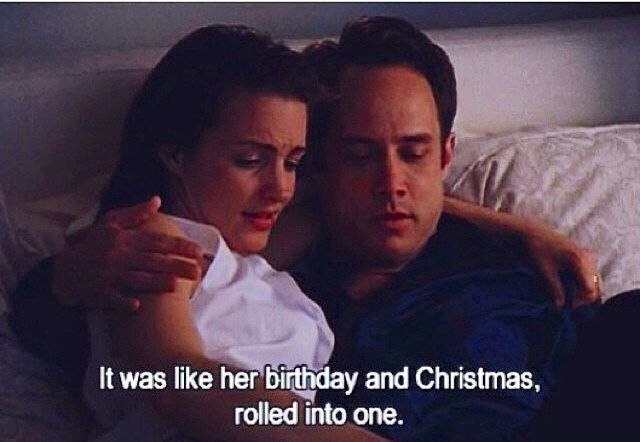 I was like her birthday on christmad, all rolled into one. . Sex and the city quotes