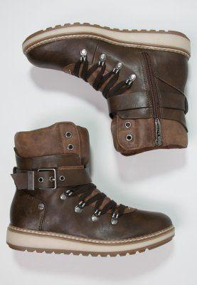 Tamaris Botki Sznurowane Cafe Muscat Zalando Pl Tamaris Biker Boot Boots