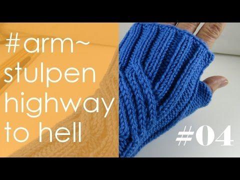 """Stricken * Videos zu Armstulpen """"Highway to Hell"""""""