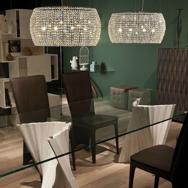 Fall Decorating Ideas - Sparkling Ceiling Lamps | Modern Lamps, Lighting, Interior Design, Fall Trens, Luxury Furniture. For More News: http://www.bocadolobo.com/en/news-and-events/